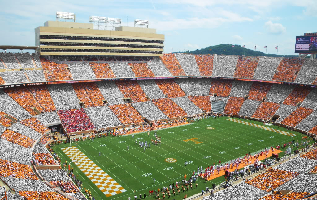 watching the game at neyland stadium essay