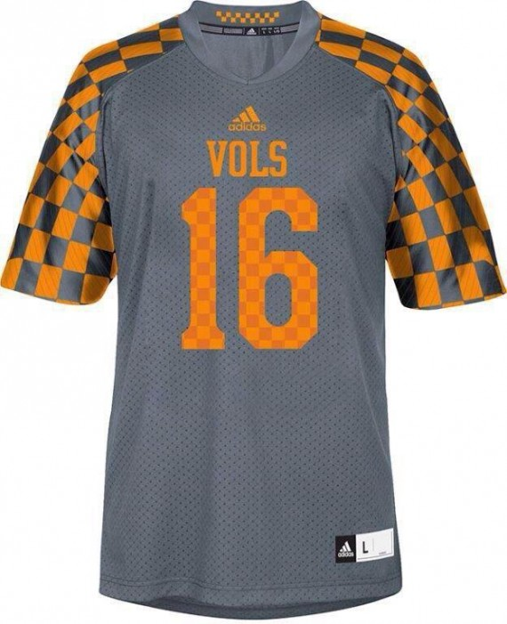 on sale ca0ce c78bb Tennessee Volunteers: Evolution of the Smokey Gray Uniform